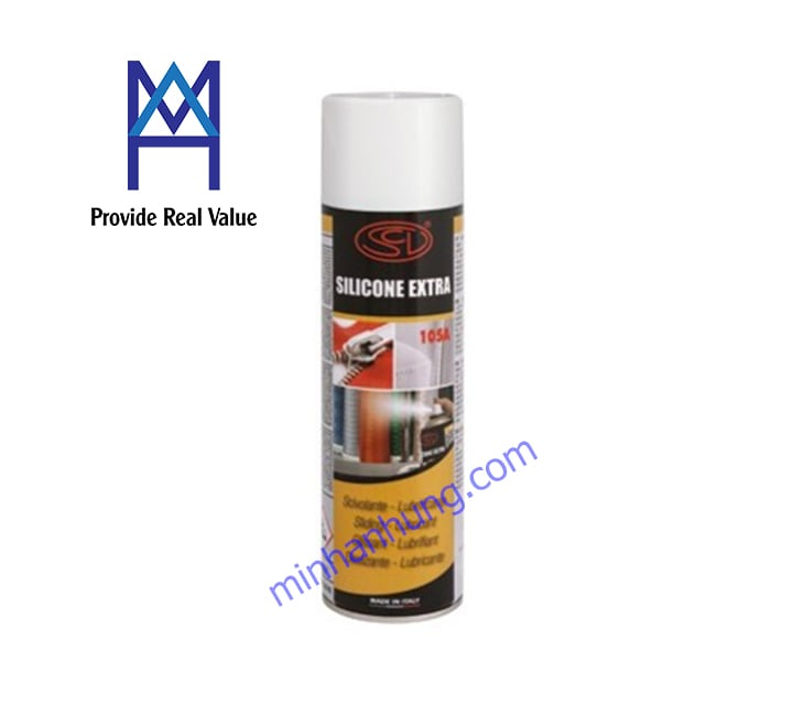 Silicone Spray 105A - Chai xit Silicone dang tron kho