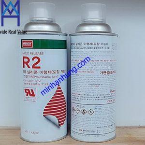 Dầu tách khuôn R2 Nabakem Hàn Quốc
